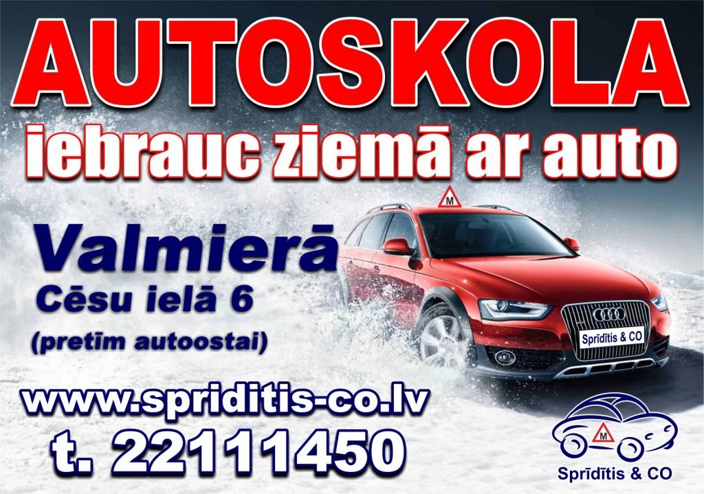 Plakats autoskola